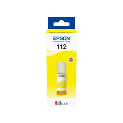Epson EcoTank 112 Pigment Yellow ink bottle