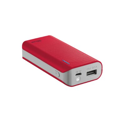 Primo PowerBank 4400 Portable Charger - red